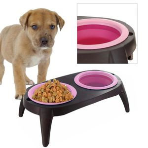 gamelle pour chien sur pied achat vente gamelle pour chien sur pied pas cher cdiscount. Black Bedroom Furniture Sets. Home Design Ideas