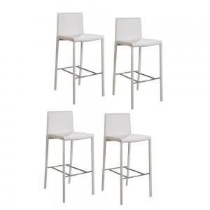 Chaises de bar butterflies x4 couleur blanc achat vente tabouret de bar - Cdiscount chaise de bar ...