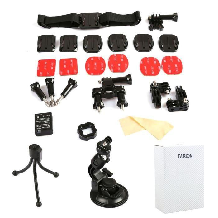 tarion 15en1 accessoires fixation pour gopro hero achat vente pack accessoires photo cdiscount. Black Bedroom Furniture Sets. Home Design Ideas