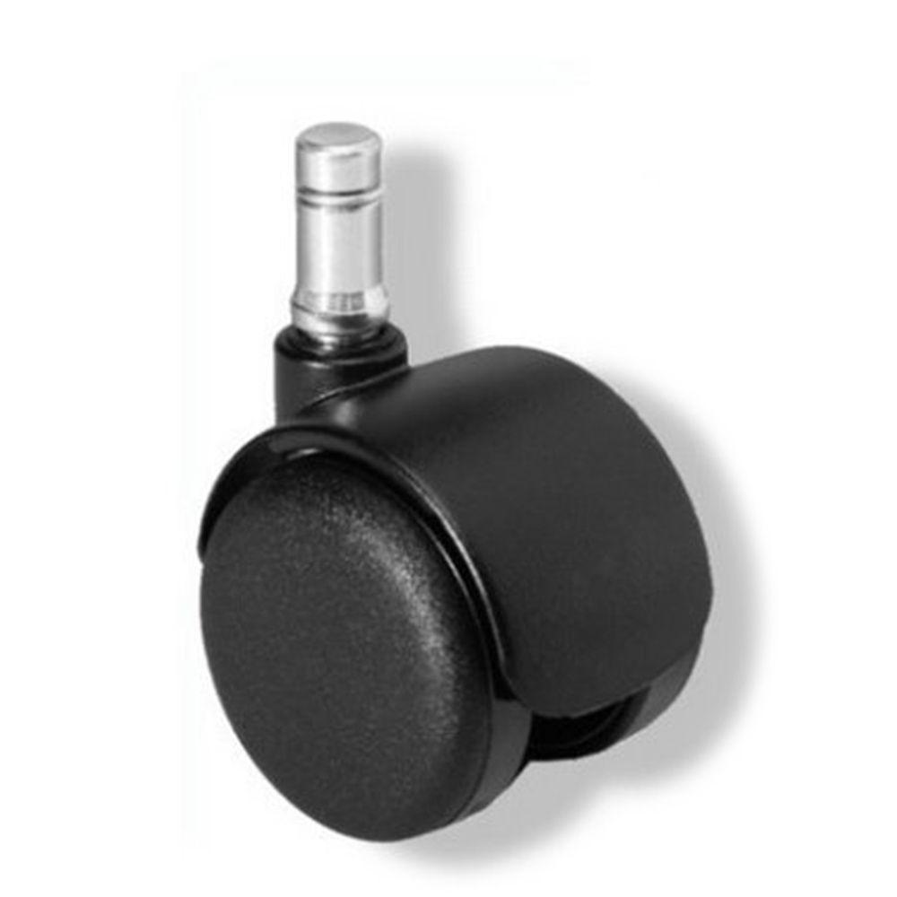 5 roulettes pour sols durs 10mm 50mm roulett achat for Roulette fauteuil de bureau