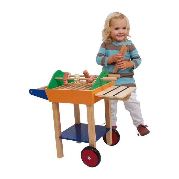 barbecue en bois cuisine dinette enfant achat vente dinette cuisine cdiscount. Black Bedroom Furniture Sets. Home Design Ideas