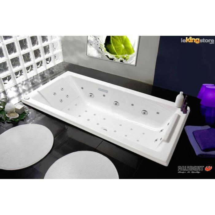 baignoire baln o luxzen square 180x80 achat vente. Black Bedroom Furniture Sets. Home Design Ideas