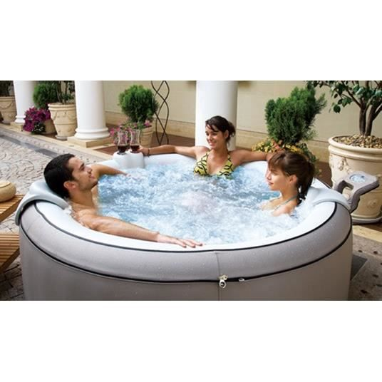 Spa gonflable elegance lite 4 places rond achat vente spa complet kit s - Spa gonflable discount ...