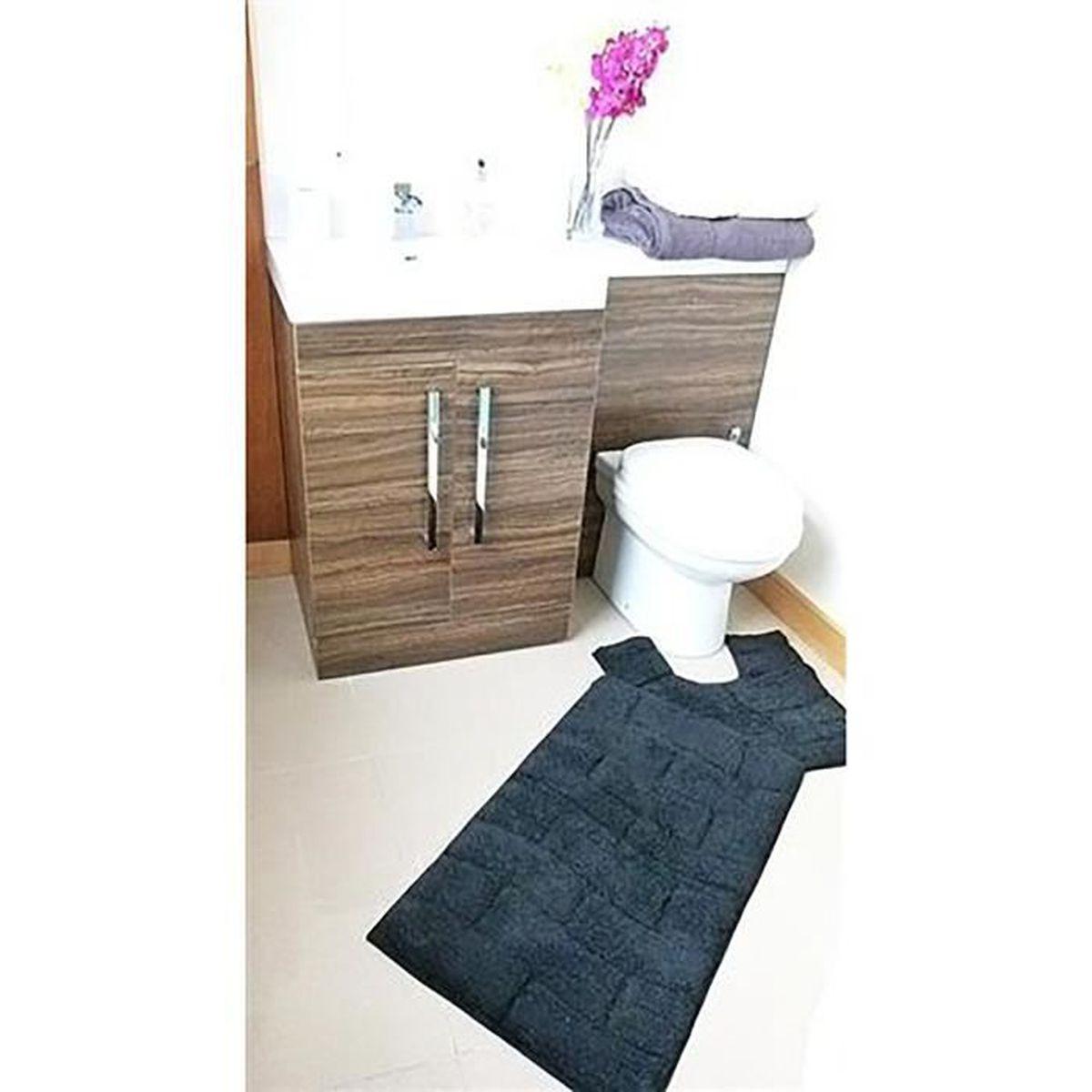 Ensemble tapis salle de bain contour wc photographs galerie d 39 inspiration pour la meilleure - Ensemble tapis salle de bain et wc ...