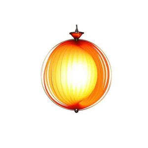 LUSTRE ET SUSPENSION Suspension SUN orange