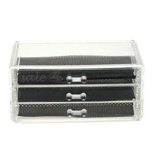 Rangement acrylique tiroir achat vente pas cher - Boite rangement cosmetique ...
