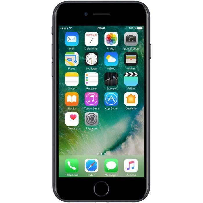 iphone 7 plus 128go noir tout op rateurs achat smartphone pas cher avis et meilleur prix. Black Bedroom Furniture Sets. Home Design Ideas