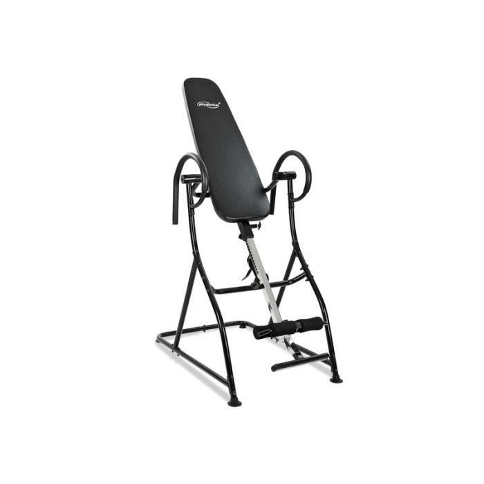 table d 39 inversion pour le dos banc de musculation entrainement fitness prix pas cher cdiscount. Black Bedroom Furniture Sets. Home Design Ideas