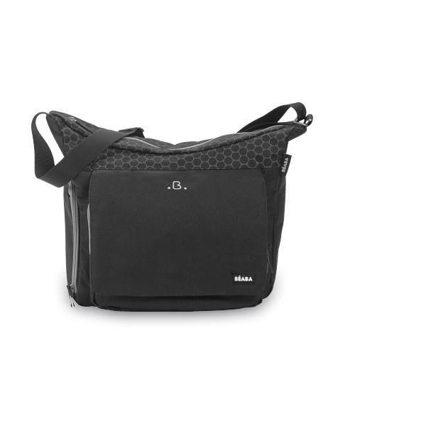 beaba sac langer vienne noir et gris noir gris achat vente sac langer 3384349401726. Black Bedroom Furniture Sets. Home Design Ideas