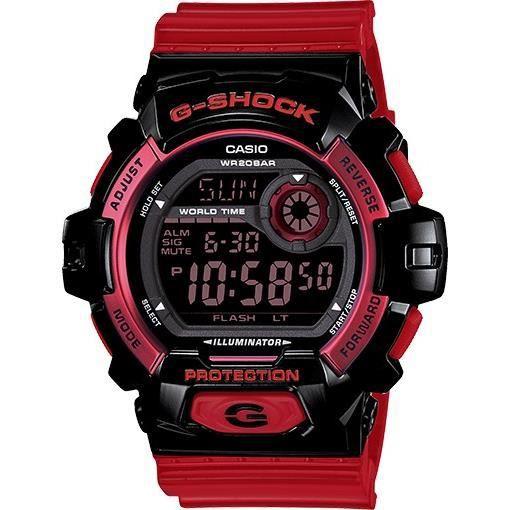 montre homme casio g shock g8900sc 1r bracelet rouge achat vente montre cdiscount. Black Bedroom Furniture Sets. Home Design Ideas