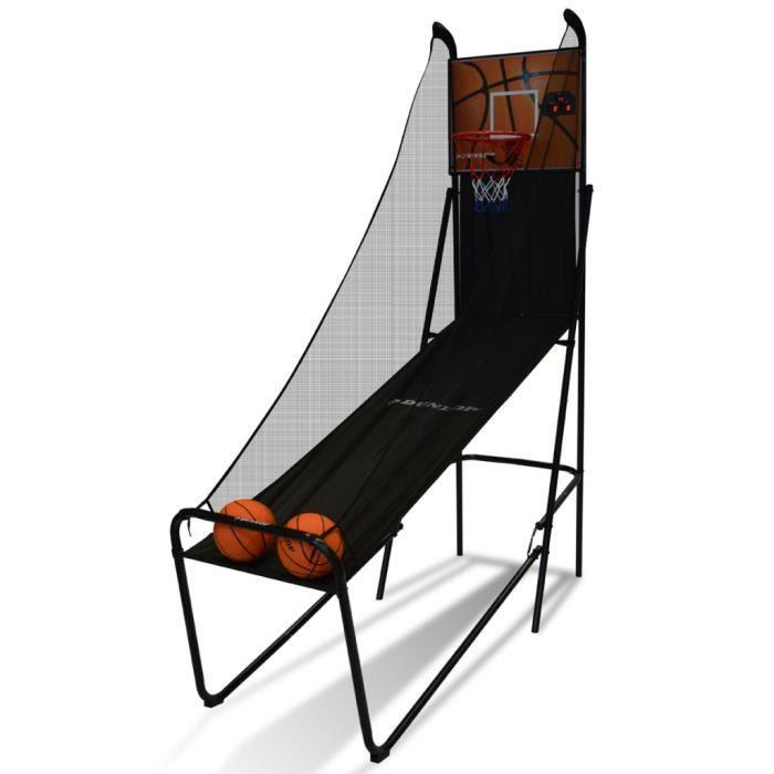 set de basketball dunlop avec minuterie et tableau de. Black Bedroom Furniture Sets. Home Design Ideas