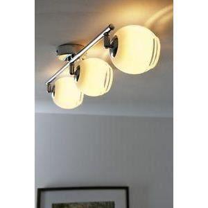 luminaire lustre lampe 3 spots sur rail plafonnier achat. Black Bedroom Furniture Sets. Home Design Ideas
