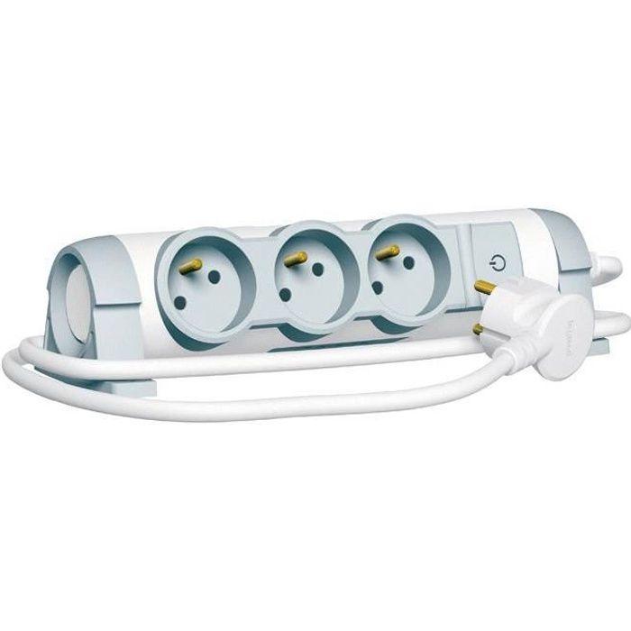 Legrand rallonge multiprise lectrique confort 3 prises - Rallonge electrique multiprise ...