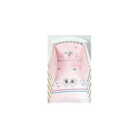 tour de lit souris les chatounets achat vente tour de lit b b 2009911045726 cdiscount. Black Bedroom Furniture Sets. Home Design Ideas