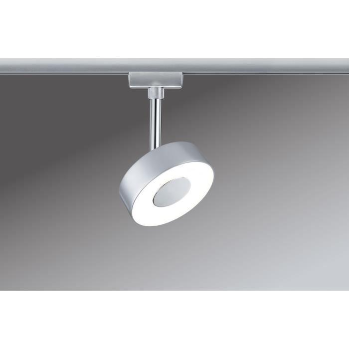 paulmann 95272 urail led spot 5w circle 230v blanc achat vente paulmann 95272 urail led. Black Bedroom Furniture Sets. Home Design Ideas