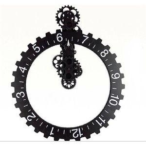 HORLOGE Gravée Gear horloge murale classique rétro horloge