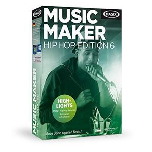 CRÉATION NUMÉRIQUE MAGIX MUSIC MAKER HIP HOP EDITION 6 [IMPORT ALLEMA