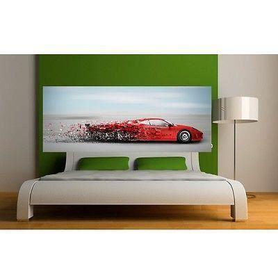 papier peint tete de lit achat vente papier peint tete de lit pas cher les soldes sur. Black Bedroom Furniture Sets. Home Design Ideas
