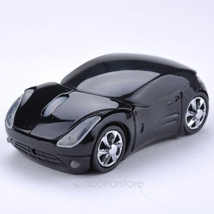 noir usb 2 4 ghz mode voiture souris sans fil pour pc portable accessoires informatiques prix. Black Bedroom Furniture Sets. Home Design Ideas