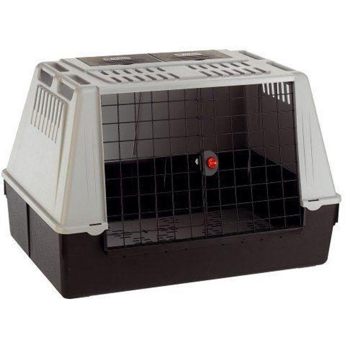 ferplast atlas car 100 cage de transport pour chien gris 100 x 60 x 66 cm achat vente caisse. Black Bedroom Furniture Sets. Home Design Ideas