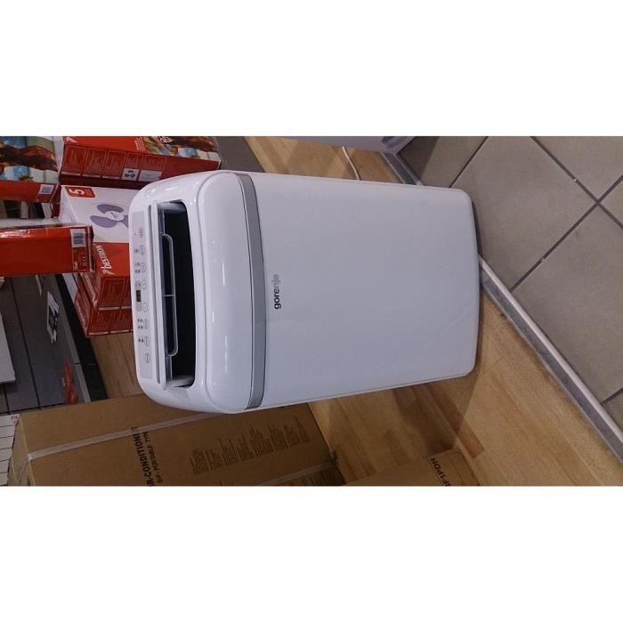 climatiseur mobile gorenje achat vente lot traitement air cdiscount. Black Bedroom Furniture Sets. Home Design Ideas