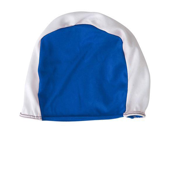 Bonnet de bain natation piscine adulte blanc bleu achat - Bonnet de piscine original ...