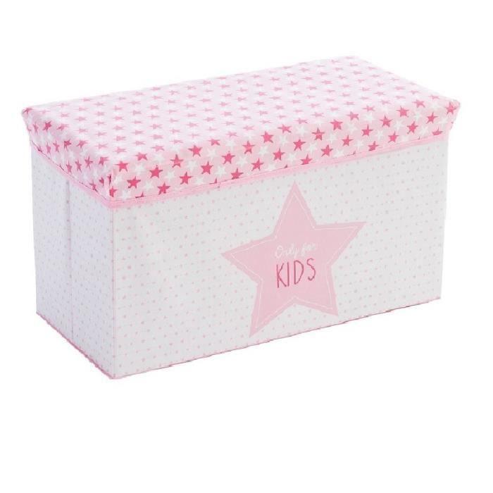 Coffre et banc de rangement rose achat vente coffre et banc de rangement - Petit banc coffre de rangement ...
