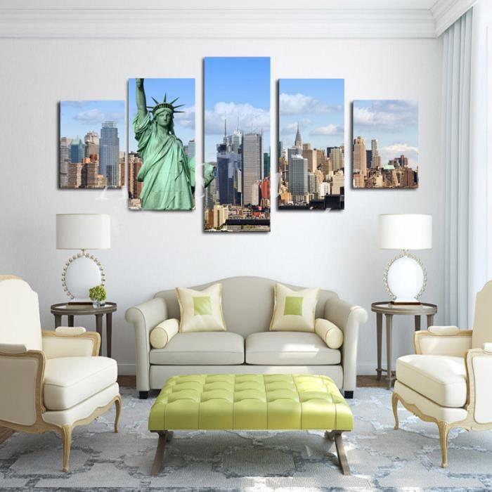 objet deco new york achat vente objet deco new york pas cher les soldes sur cdiscount. Black Bedroom Furniture Sets. Home Design Ideas