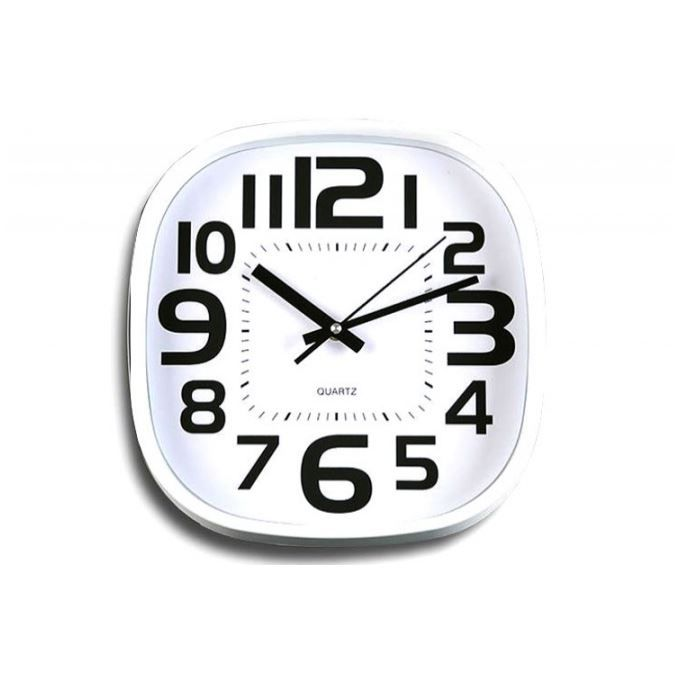 horloge murale blanche c sar achat vente horloge horloge murale blanche c sar cdiscount. Black Bedroom Furniture Sets. Home Design Ideas