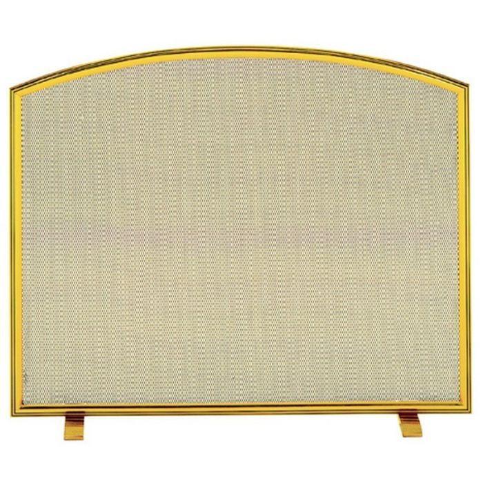 pare feu en laiton massif duchesse pour chemin e achat vente accessoires chemin e pare feu. Black Bedroom Furniture Sets. Home Design Ideas