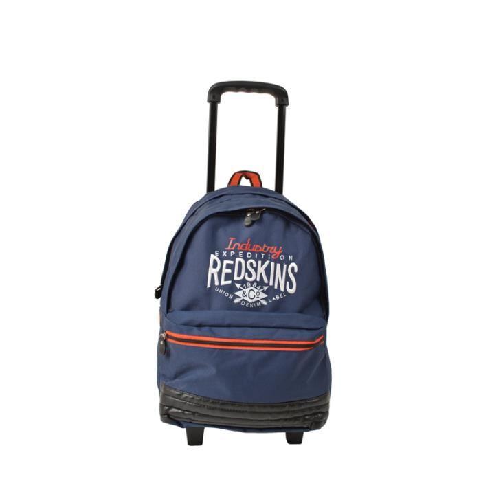 sac dos scolaire roulettes redskins 52cm pour enfant achat vente sac dos 3681643903728. Black Bedroom Furniture Sets. Home Design Ideas