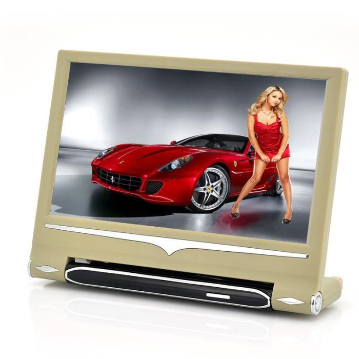 ecran lcd de voiture 9 pouces 720p fonction mp4 lecteur dvd portable avis et prix pas cher. Black Bedroom Furniture Sets. Home Design Ideas