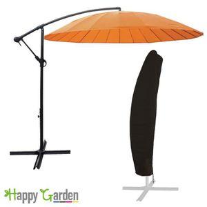 Parasol orange achat vente parasol orange pas cher soldes d hiver d s - Parasol deporte soldes ...