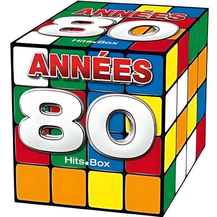 annees 80 hits box achat cd cd compilation pas cher. Black Bedroom Furniture Sets. Home Design Ideas