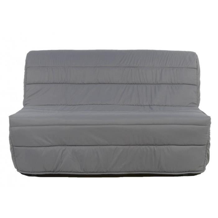 Chauffeuse bz elly choix du tissu a205 gris achat vente bz tissu polyu - Chauffeuse bz 1 place ...