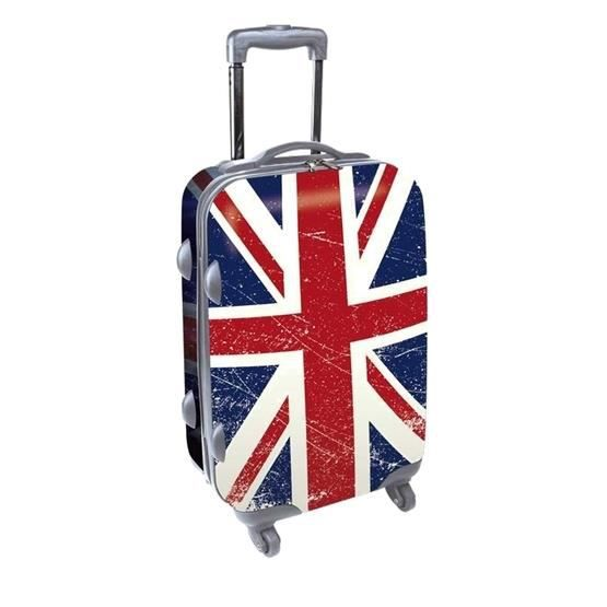 Kdo collection valise 50 cm drapeaux anglais achat vente valise bagage - Malle drapeau anglais ...
