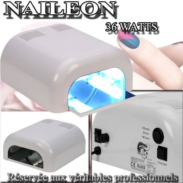 Lampe uv 36 watts naileon blanche pour ongles achat - A quoi sert une lampe uv pour les ongles ...