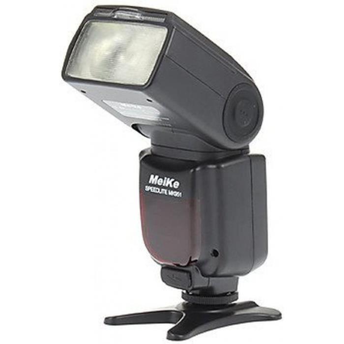 Meike mk951n flash pour nikon noir achat vente flash cdiscount - Ventes flash cdiscount ...