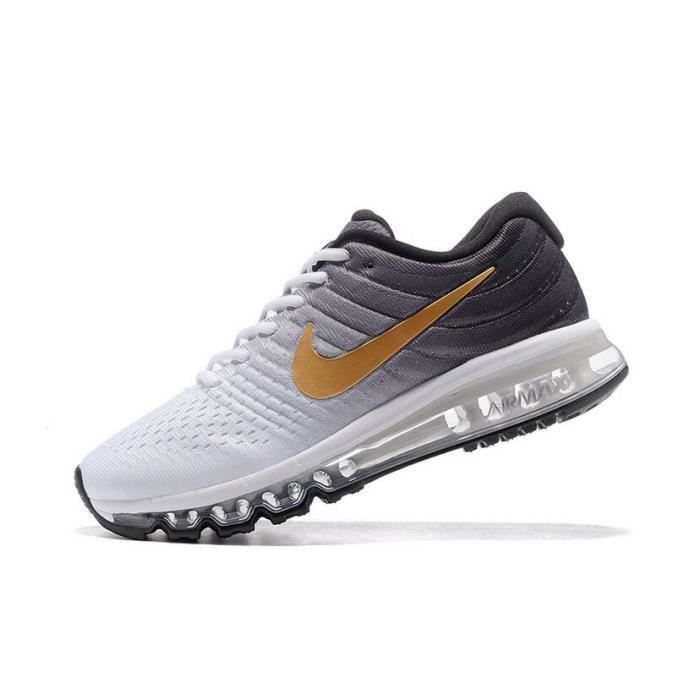 basket hommes nike air max 2017 chaussures de running tu achat vente basket cdiscount. Black Bedroom Furniture Sets. Home Design Ideas