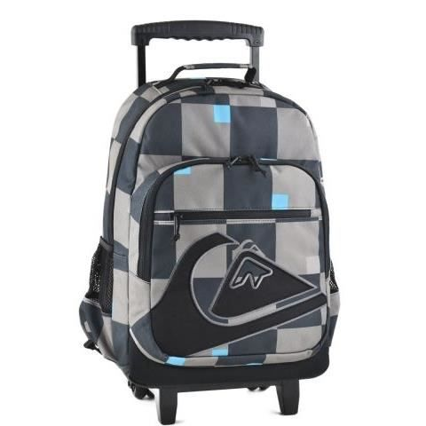 sac dos trolley cartable roulettes quiksilver achat vente sac dos sac dos trolley. Black Bedroom Furniture Sets. Home Design Ideas