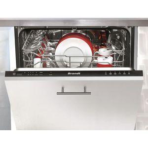 LAVE-VAISSELLE BRANDT VH1472J - Lave-vaisselle tout intégrable -