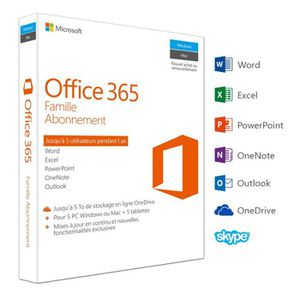 Microsoft office achat vente microsoft office pas cher - Cle activation office 365 famille premium ...
