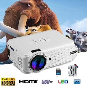 Vidéoprojecteur CHEERLUX C6 Mini LED Projecteur Noir 800x480 Pixel