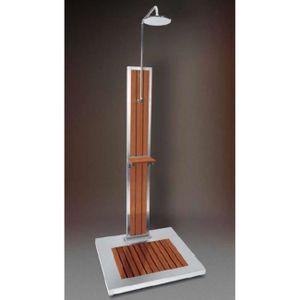 douche solaire bois achat vente douche solaire bois pas cher cdiscount. Black Bedroom Furniture Sets. Home Design Ideas
