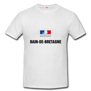 T-SHIRT T-shirt bain de bretagne homme et femme unisex