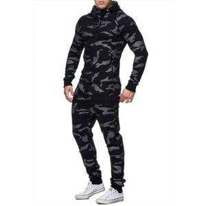 SURVÊTEMENT DE SPORT Ensemble survêtement jogging camouflage noir