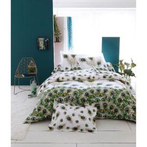 housse de couette motif plume achat vente housse de couette motif plume pas cher cdiscount. Black Bedroom Furniture Sets. Home Design Ideas