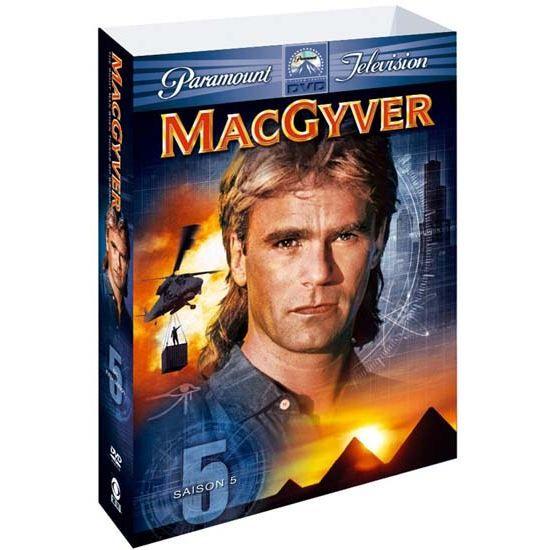 MacGyver, saison 5 en DVD SÉRIE pas cher