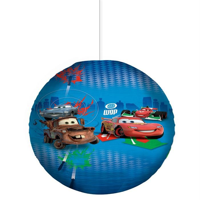 Disney suspension boule japonaise cars 2 achat vente disney suspension bo - Lampe boule japonaise ...