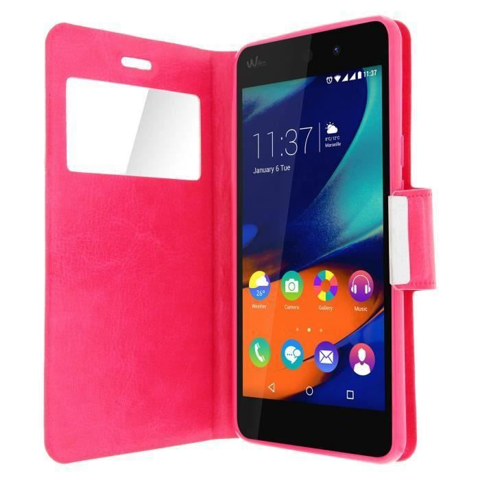 Coque wiko lenny 2 achat housse chaussette pas cher for Coque portefeuille wiko lenny 2